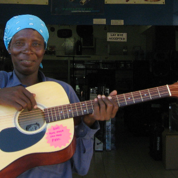 An authentic African troubadour * Farewell Ronnie
