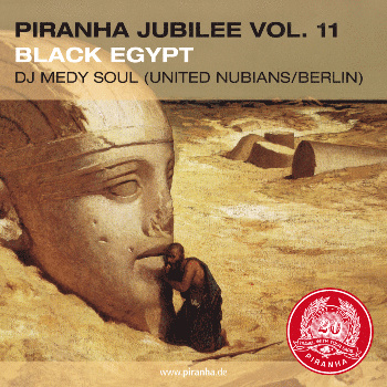 Piranha Jubilee Vol.11: Black Egypt - VA: Mahmoud Fadl, Salamat, Ali Hassan Kuban & more
